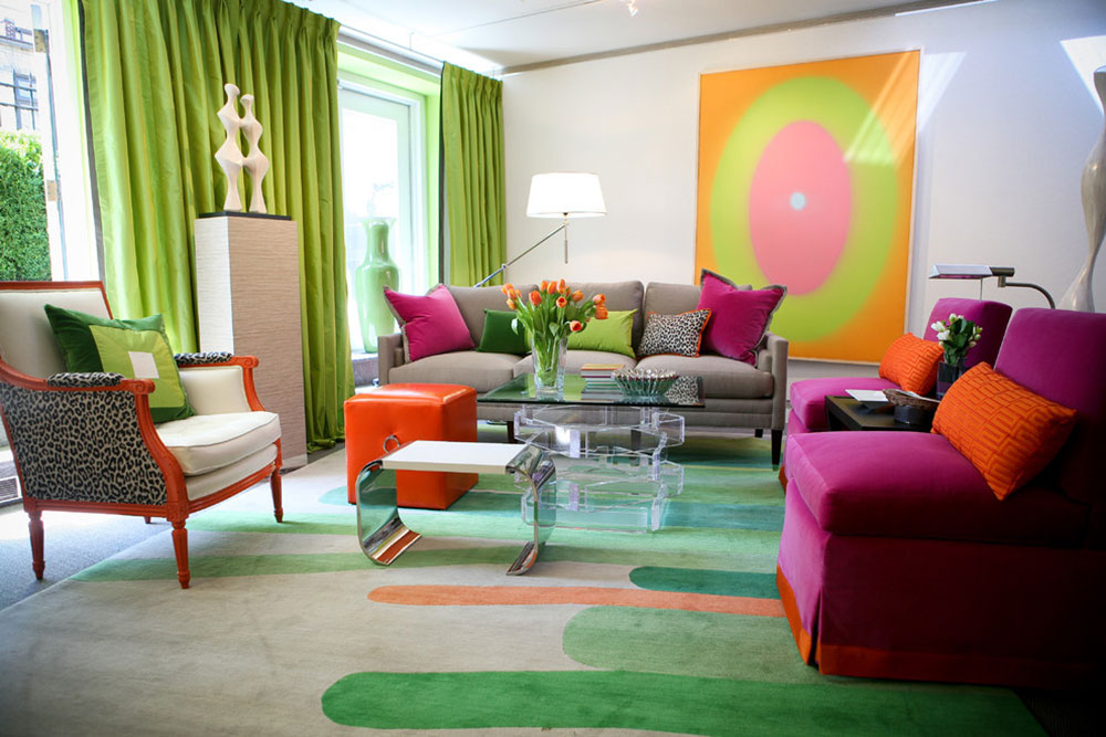 Strålande nyanser av grönt för ditt vardagsrum 11 Briljanta nyanser av grönt för ditt vardagsrum