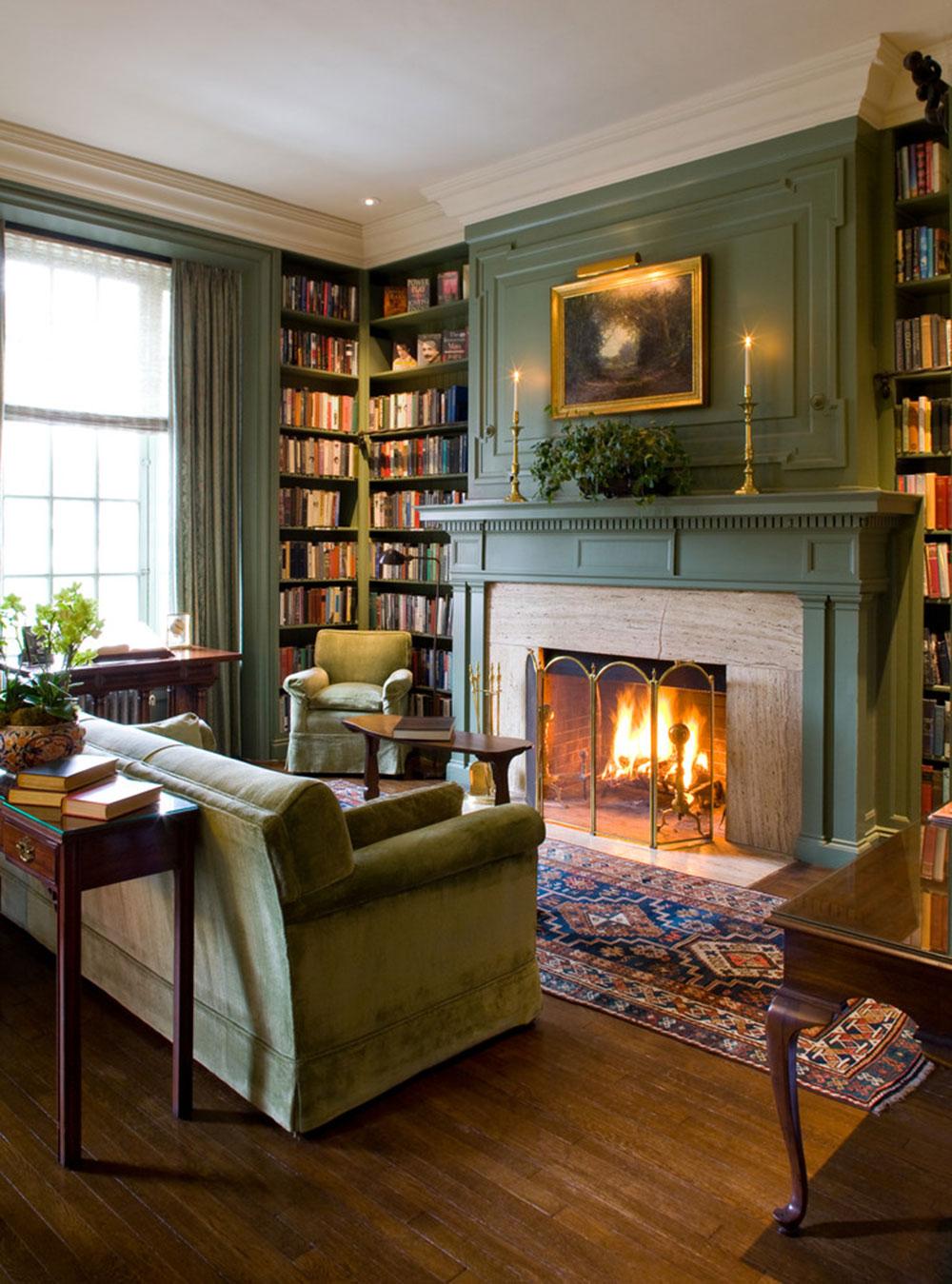 Lysande gröna nyanser för ditt vardagsrum 18 lysande gröna nyanser för ditt vardagsrum