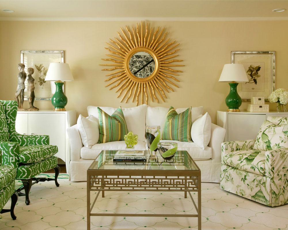 Lysande gröna nyanser för ditt vardagsrum 13 lysande gröna nyanser för ditt vardagsrum