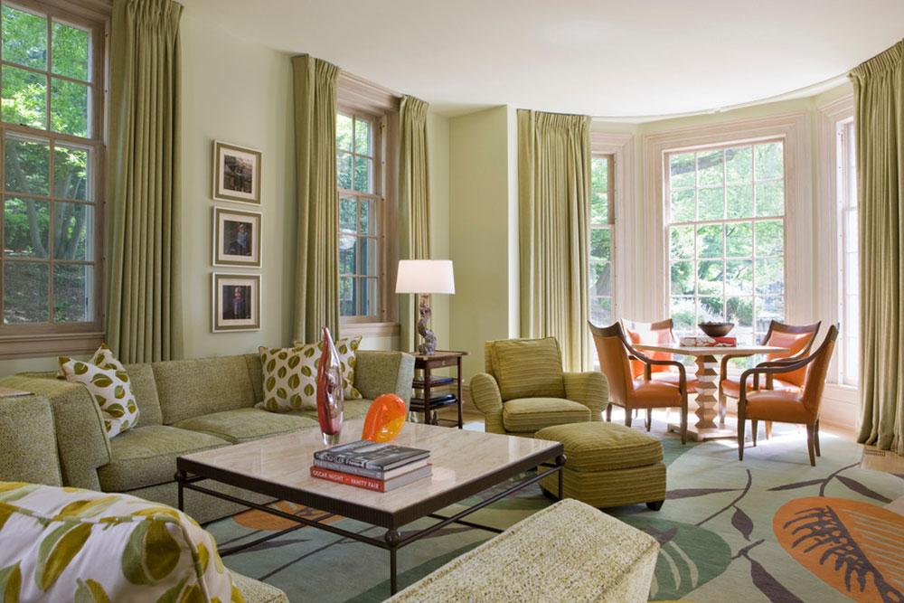 Strålande nyanser av grönt för ditt vardagsrum1 Briljanta nyanser av grönt för ditt vardagsrum