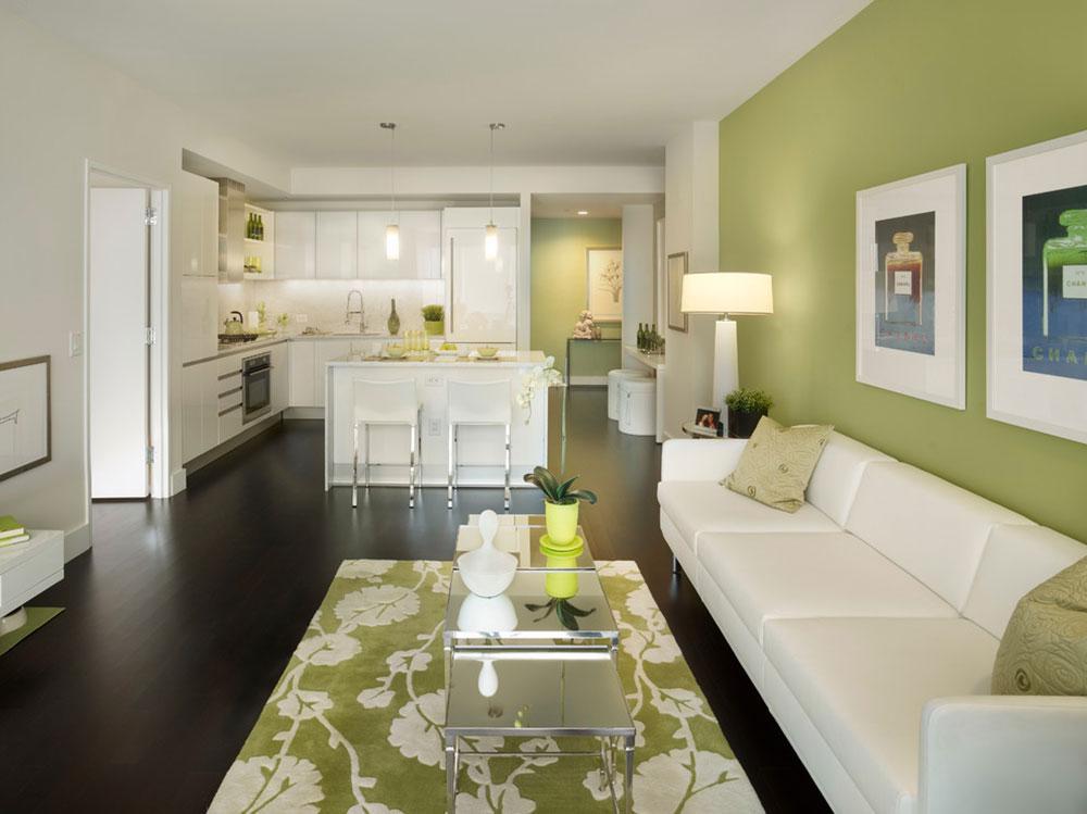 Strålande nyanser av grönt för ditt vardagsrum9 Briljanta nyanser av grönt för ditt vardagsrum