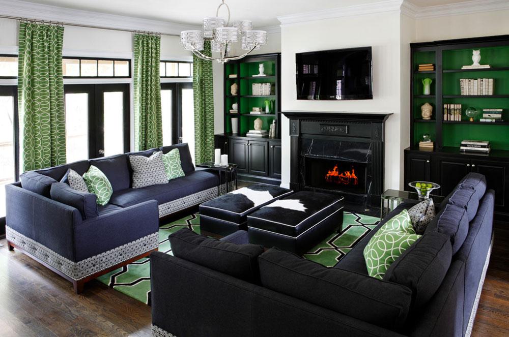 Lysande gröna nyanser för ditt vardagsrum2 Lysande gröna nyanser för ditt vardagsrum