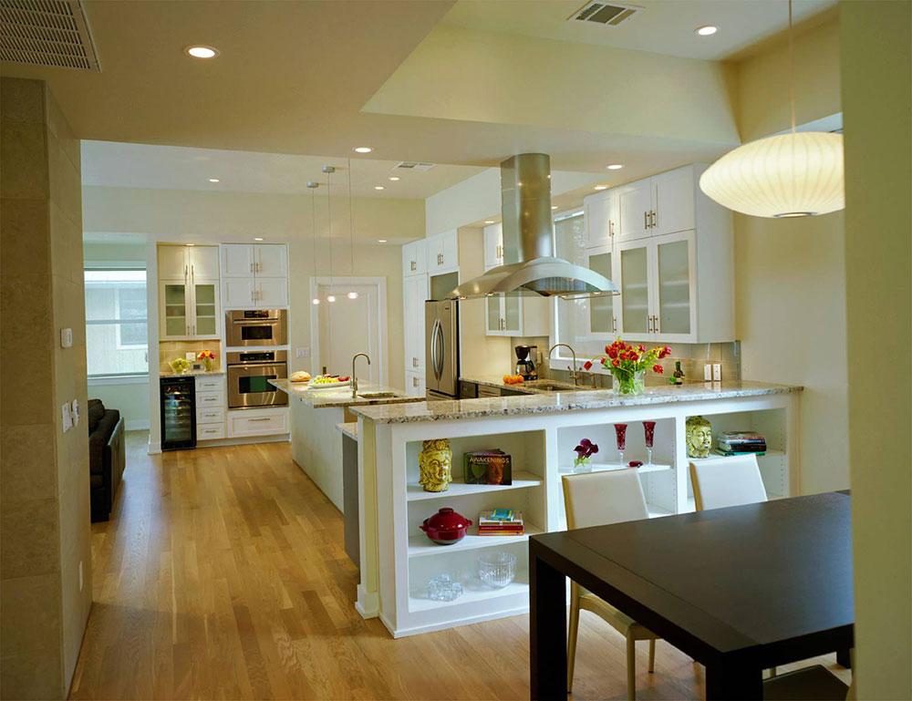 Öppna kök och vardagsrumsdesignidéer3 Öppna kök och vardagsrumsdesignidéer
