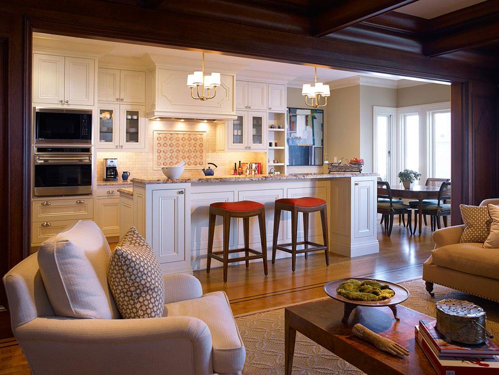 Öppet kök och vardagsrum designidéer2 Öppet kök och vardagsrum designidéer