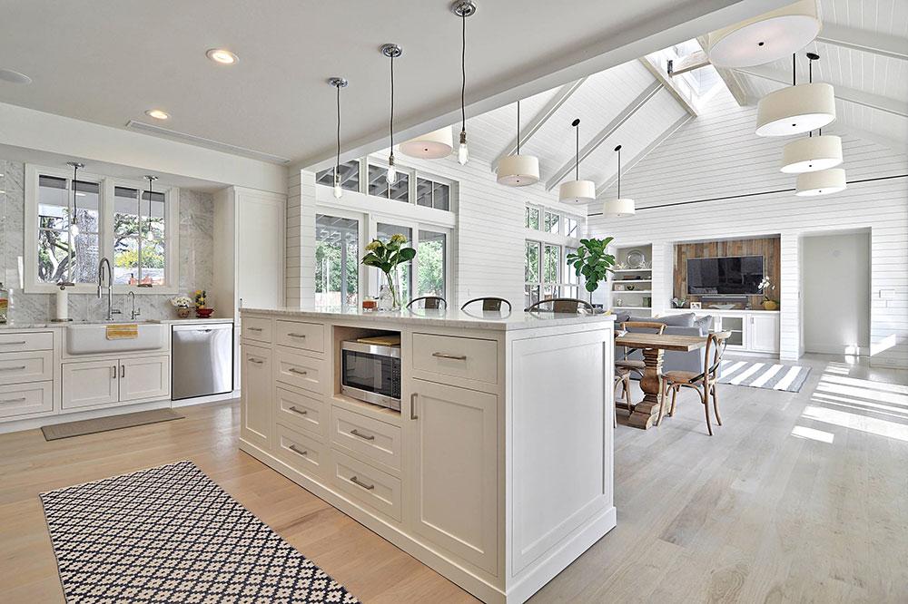 Öppna kök och vardagsrumsdesign7 Idéer för öppet kök och vardagsrum