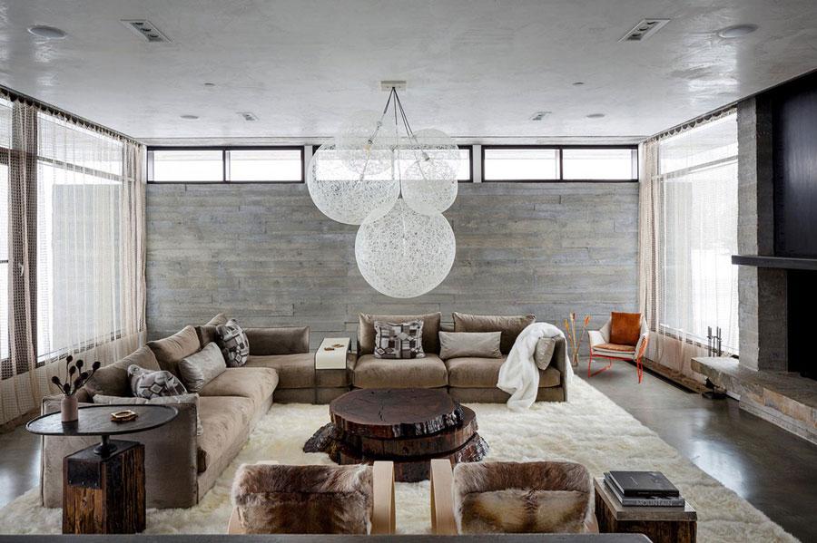 8 fantastiska vardagsrumsdekorationer för ett modernt hem