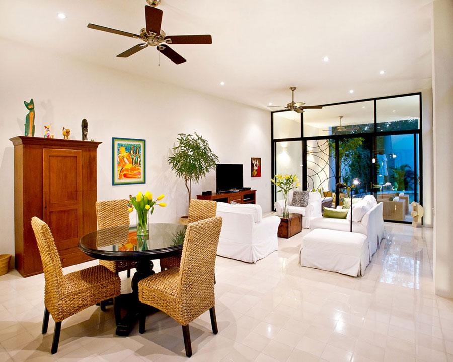 4 fantastiska vardagsrumsdekorationer för ett modernt hem