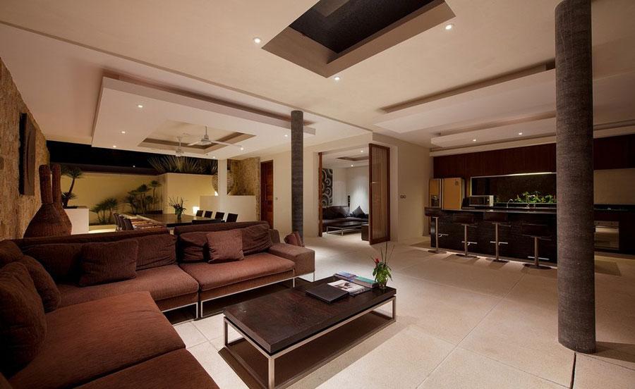 12 fantastiska bilder av vardagsrum med intressant interiör