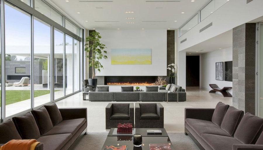 2 fantastiska bilder av vardagsrum med intressant interiör