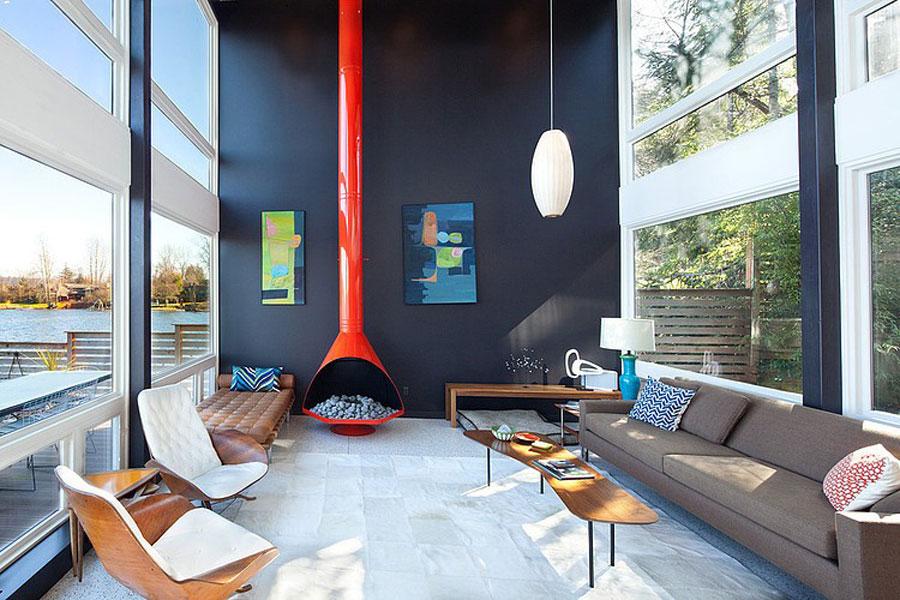 11 fantastiska bilder av vardagsrum med intressant interiör