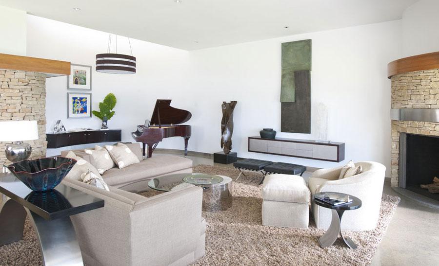 4 fantastiska bilder av vardagsrum med intressant interiör