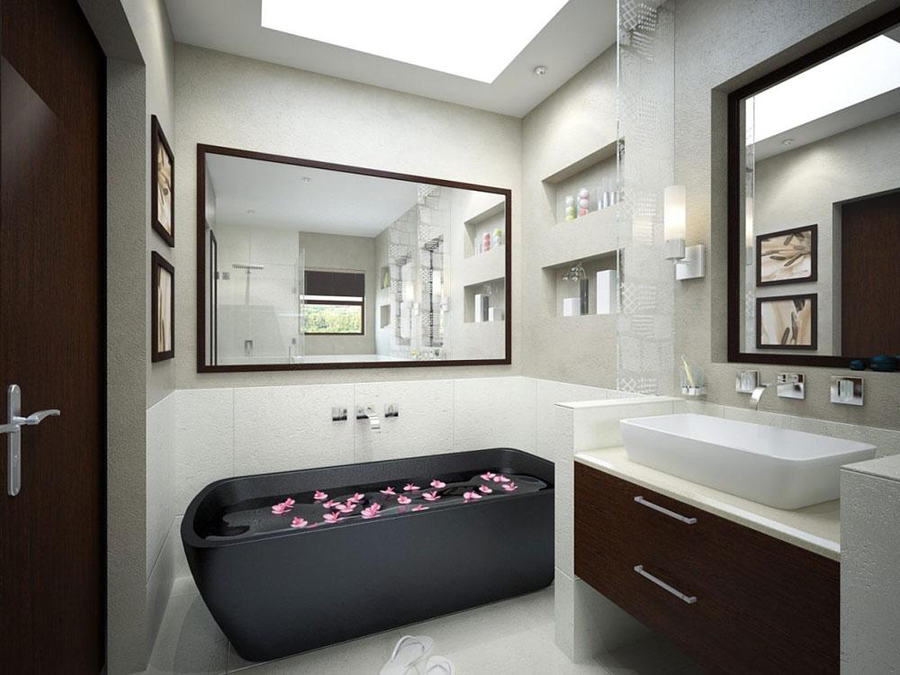 Badrum med takfönster som får dig att tänka om hur du utformar 10 badrum med takfönster som får dig att ompröva din design