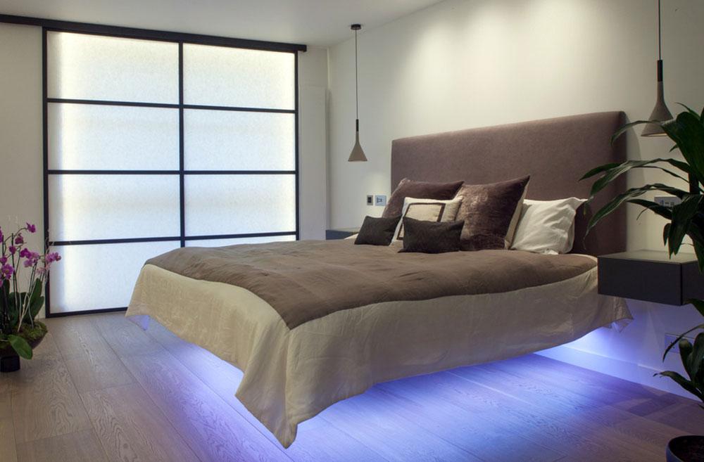 Väggmonterat nattduksbord-hjälpsamt och underbart4 Väggmonterat nattbord - hjälpsamt och underbart
