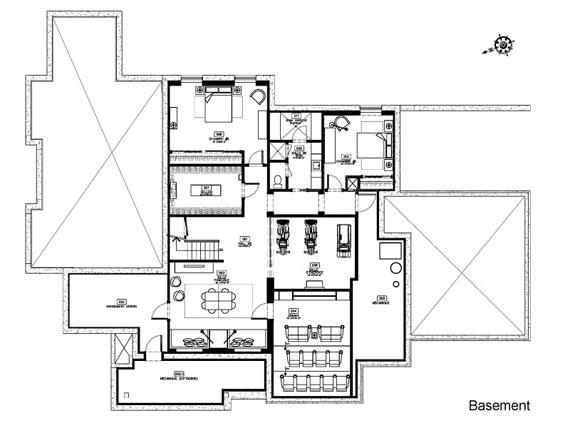 b13 Maison Du Boisé av inredningsstudion Gestion René Desjardins
