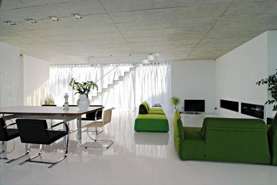 g32 Gröna vardagsrumsdesignidéer: dekorationer och möbler