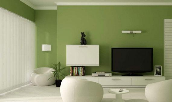 g20 gröna vardagsrumsdesignidéer: dekorationer och möbler
