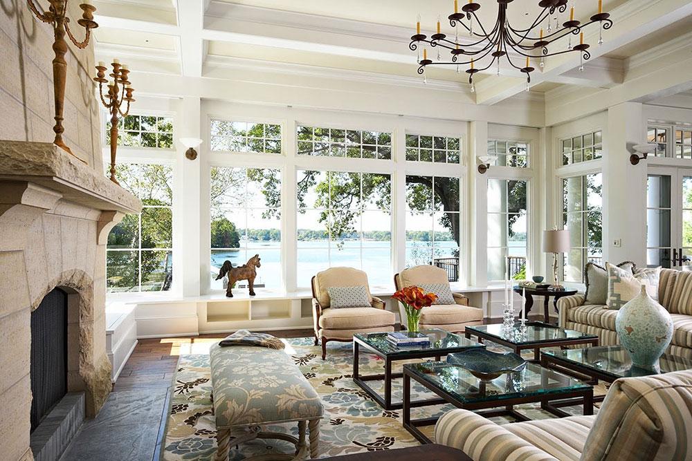 Lake House vardagsrumsfönsterdesign Förbättra utsidan: Top 10 exteriör ombyggnadsidéer