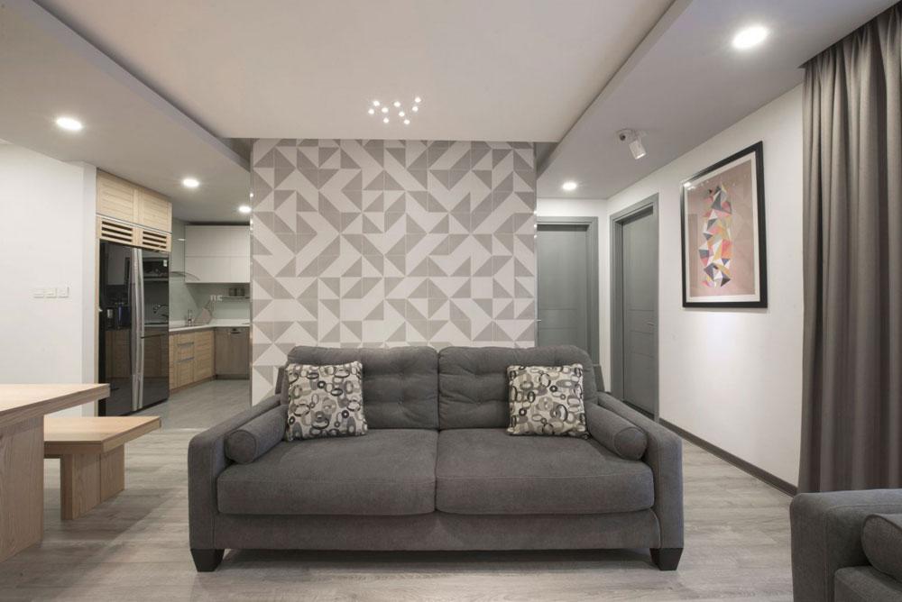 Liten men elegant lägenhet designad av Le Studio 4 Liten men elegant lägenhet designad av Le Studio