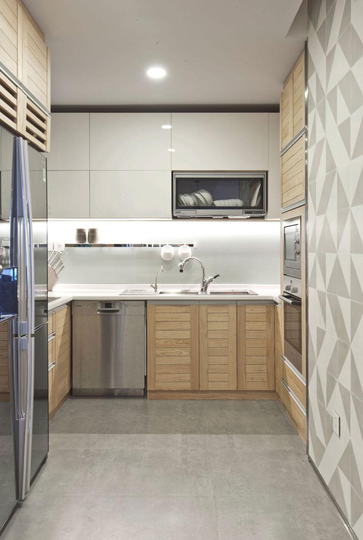 Liten men elegant lägenhet designad av Le Studio 5 Liten men elegant lägenhet designad av Le Studio