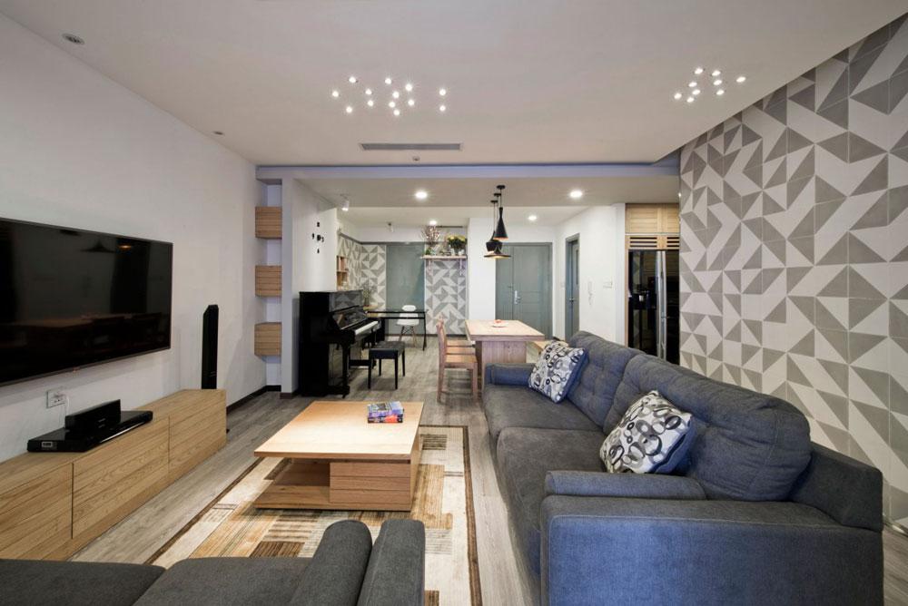 Liten men elegant lägenhet designad av Le Studio 2 Liten men elegant lägenhet designad av Le Studio
