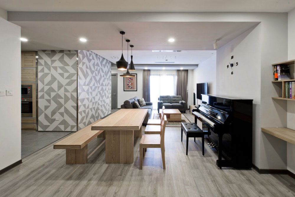 Liten men elegant lägenhet designad av Le Studio 8 Liten men elegant lägenhet designad av Le Studio