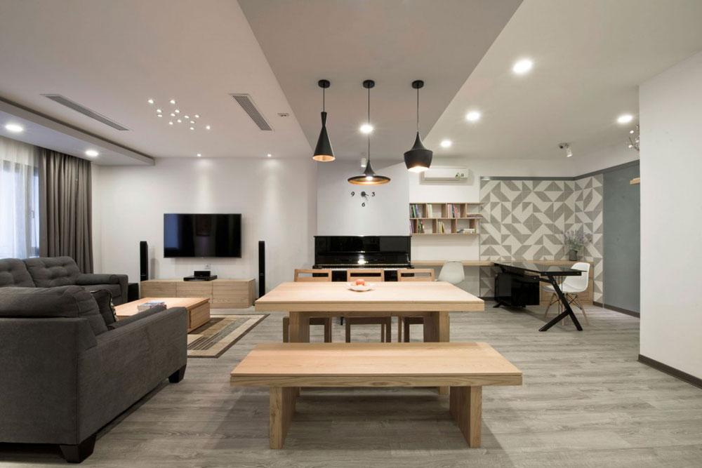 Liten men elegant lägenhet designad av Le Studio 6 Liten men elegant lägenhet designad av Le Studio