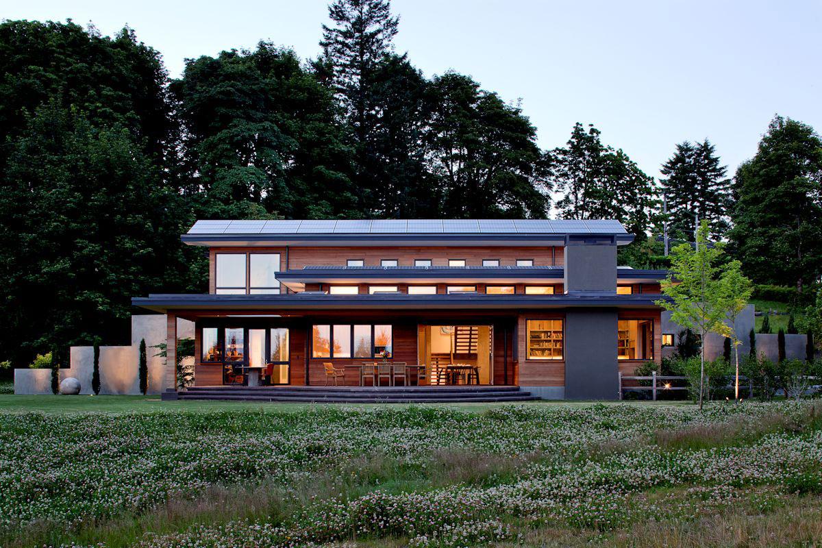 Modernt enfamiljshus med modern inredning 4 Modernt enfamiljshus med modern inredning