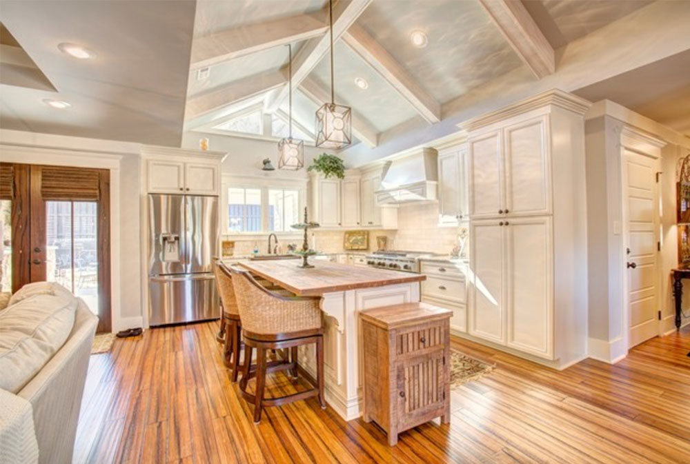 Twickenham-Histroic-Renovation-and-Addition-by-VTS-Homes-Wood-countertops: Solid, Rustic, Natural Kitchen Counter