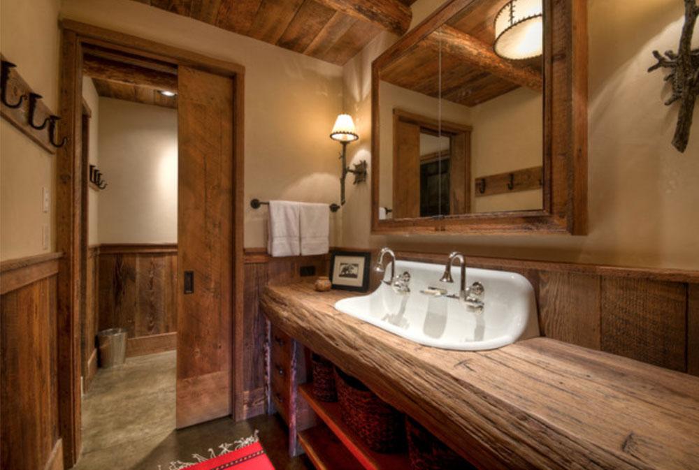 Big-Sky-Ansel-Haus-von-Laura-Fedro-Interiors-Inc-träbänkskivor: massiva, rustika, naturliga köksbänkar