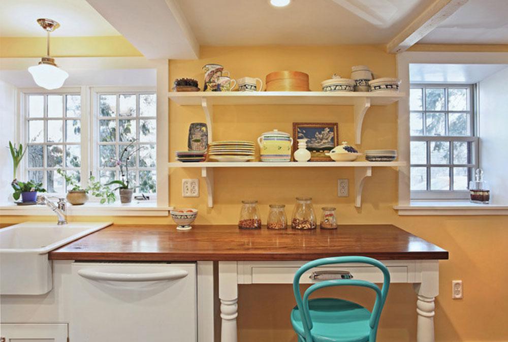 Melrose-Kitchen-by-Luciano-Group- träbänkskivor: Massiva, rustika, naturliga köksbänkar