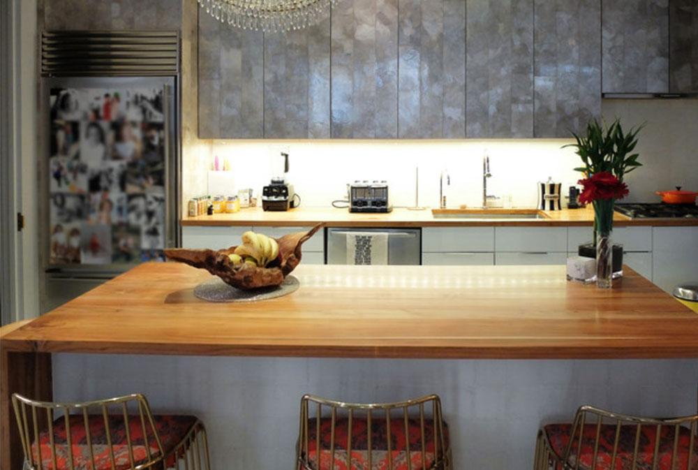 Tribecca-Duplex-by-Studio-4W träbänkar: Massiva, rustika, naturliga köksbänkar