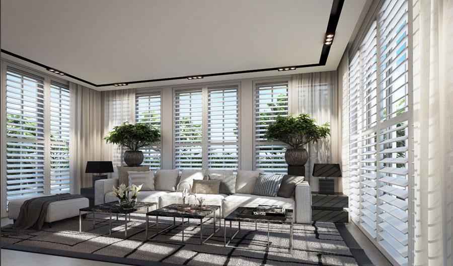 6 Penthouse designinspiration från Ando Studio
