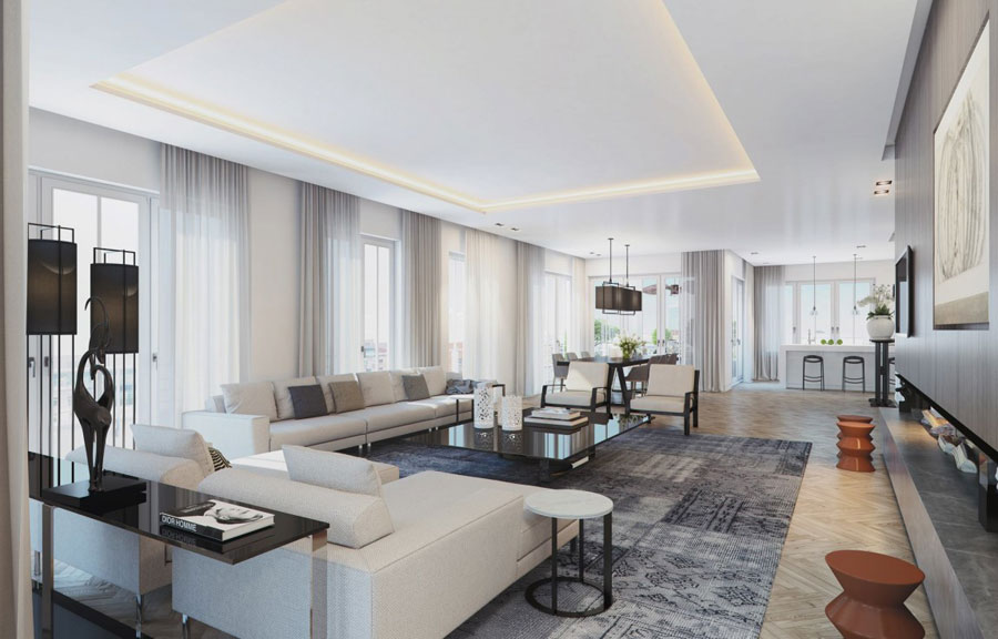 4 Penthouse designinspiration från Ando Studio