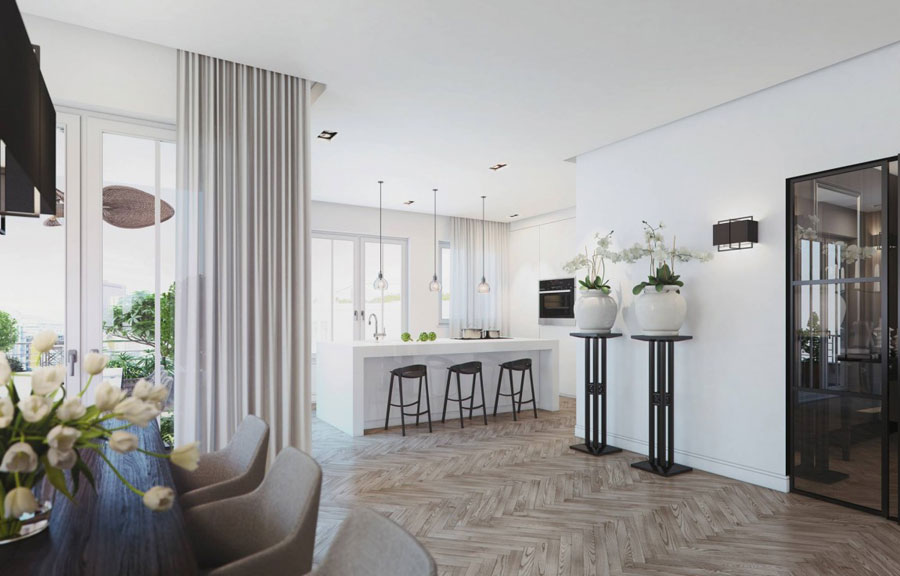 8 Penthouse designinspiration från Ando Studio