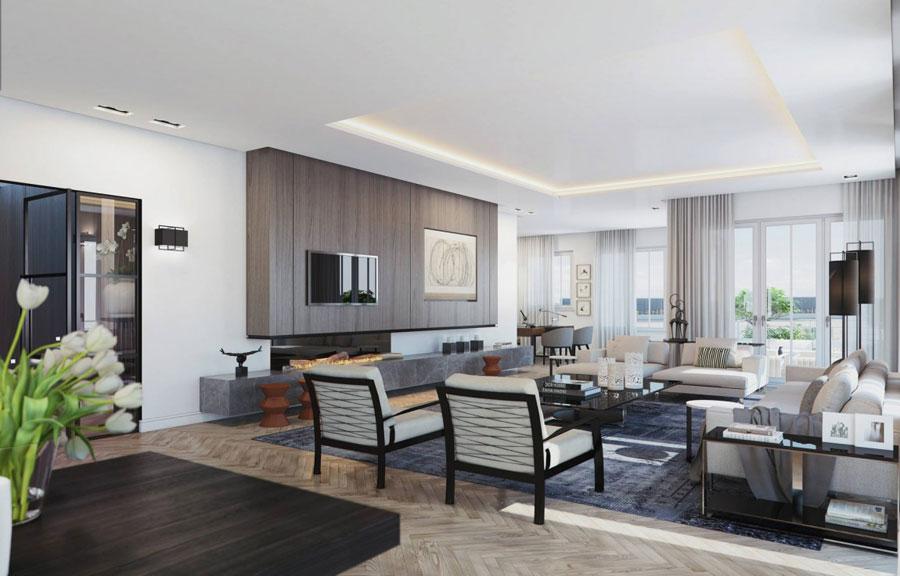 5 Penthouse designinspiration från Ando Studio