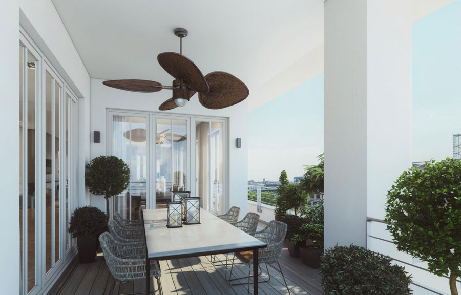 3 Penthouse designinspiration från Ando Studio