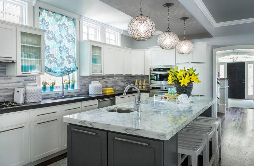 Tips och riktlinjer för dekorering över köksskåp 1 Tips och riktlinjer för dekorering över köksskåp