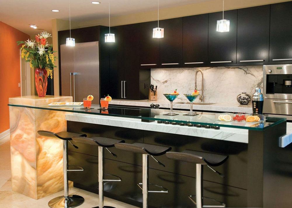 Tips och riktlinjer för dekorering över köksskåp 11 tips och riktlinjer för dekorering över köksskåp