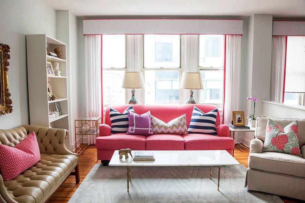 Idéer för att dekorera ditt hem med djärva färger 9 idéer för att dekorera ditt hem med djärva färger