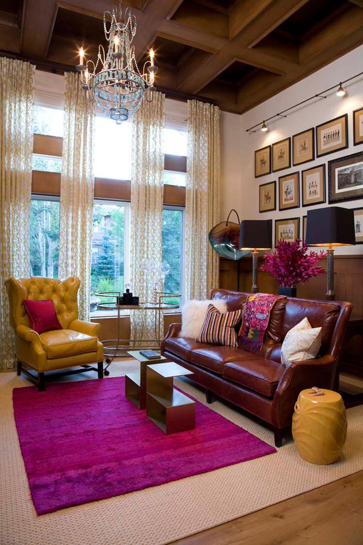Idéer för att dekorera ditt hem med djärva färger 4 idéer för att dekorera ditt hem med djärva färger