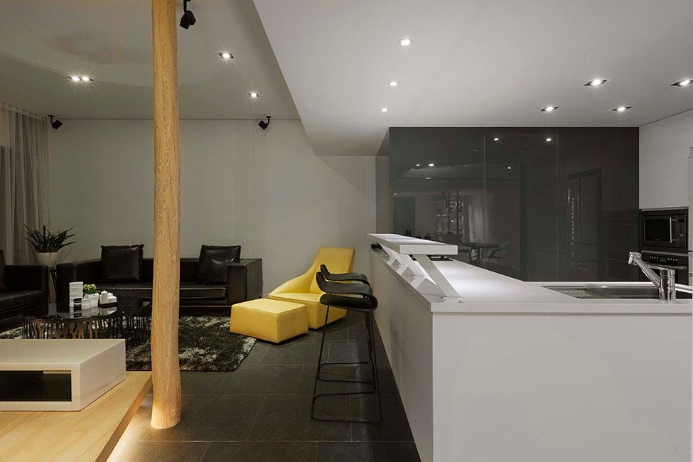 Lägenhet-redesignad-med-ett-stort-öppet-utrymme-16 Lägenhet omformat med ett stort öppet utrymme av JC Architecture