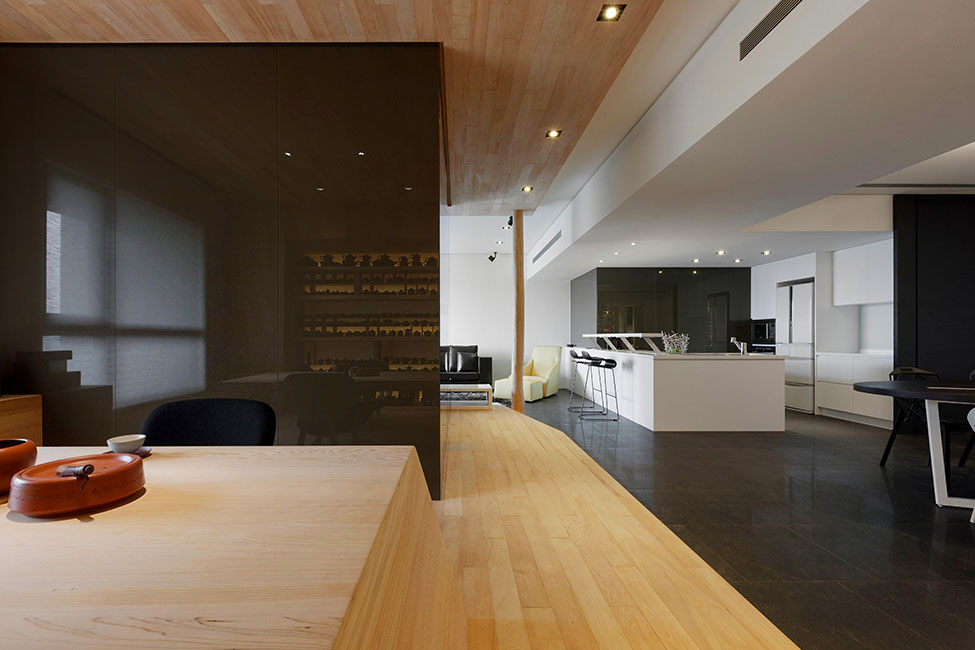 Lägenhet-redesignad-med-ett-stort-öppet-utrymme-4 Lägenhet omformat med ett stort öppet utrymme av JC Architecture