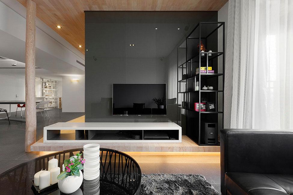 Lägenhet-omdesignad-med-ett-stort-öppet-utrymme-8 Lägenhet omformat med ett stort öppet utrymme av JC Architecture