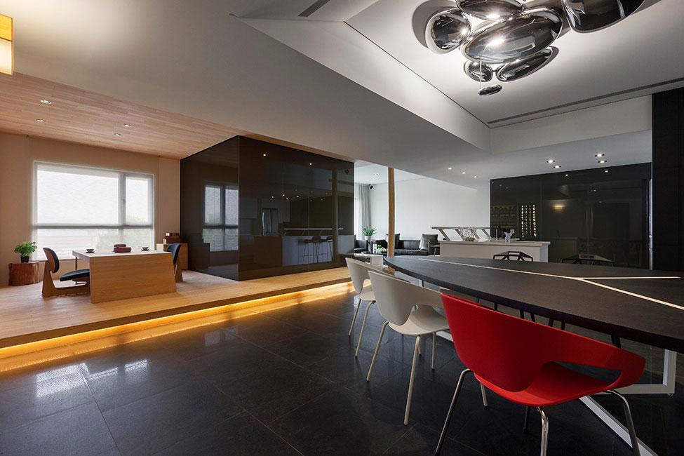 Lägenhet-omdesignad-med-ett-stort-öppet-utrymme-5 Lägenhet omdesignat med ett stort öppet utrymme av JC Architecture