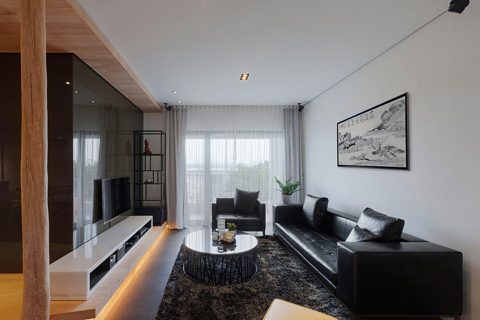 Lägenhet-redesignad-med-ett-stort-öppet-utrymme-7 Lägenhet omformat med ett stort öppet utrymme av JC Architecture