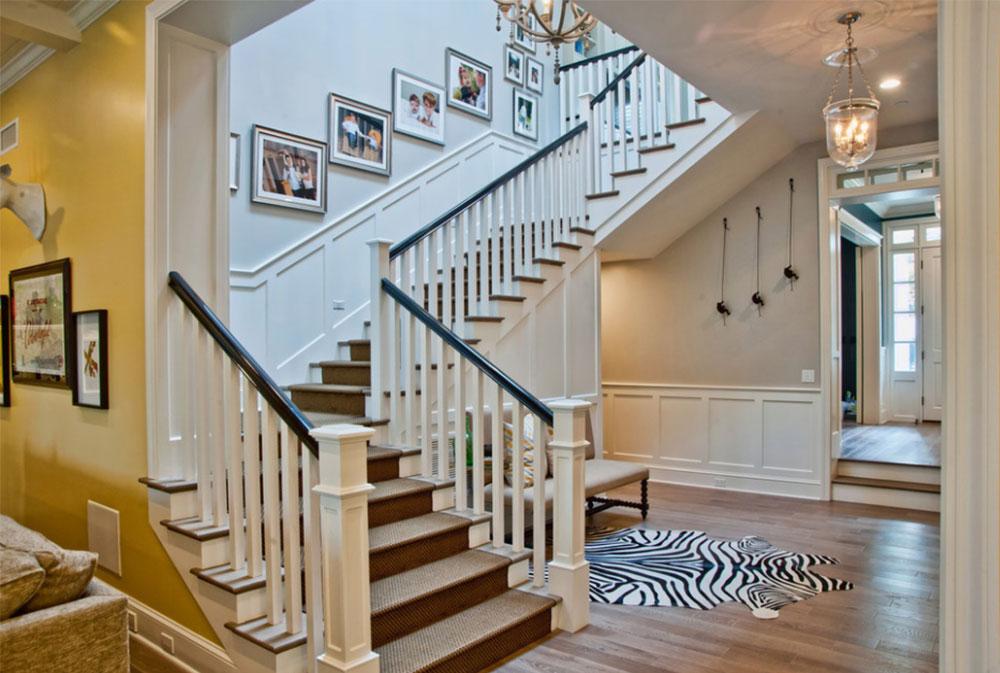 Bild-9-8 Idéer för dekoration av trappväggar