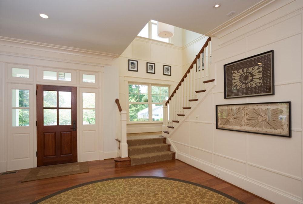 Bild 6-8 Idéer för dekoration av trappväggar