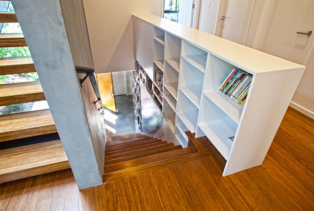 Bild-7-8 Idéer för dekoration av trappväggar