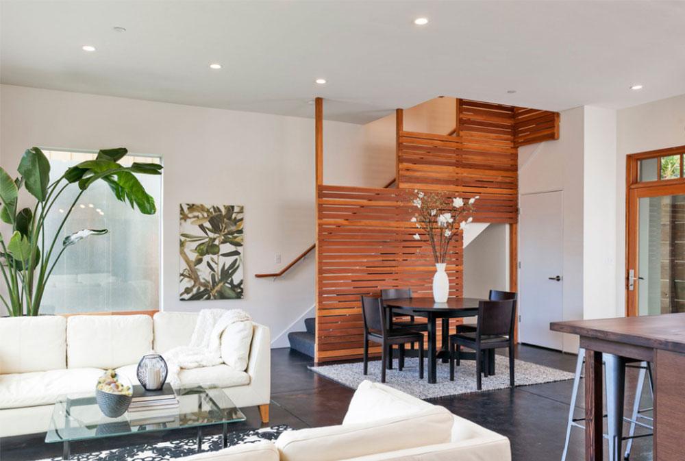 Bild 3-8 Idéer för dekoration av trappväggar