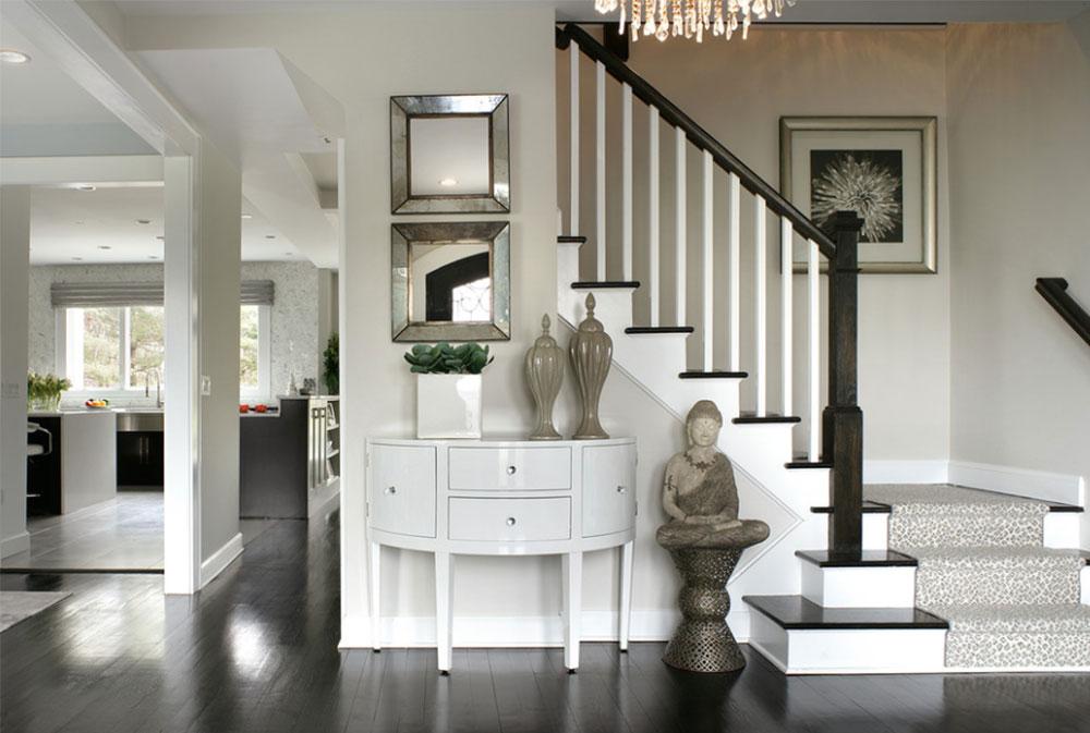 Bild-15-8 Dekorationsidéer för trappväggar